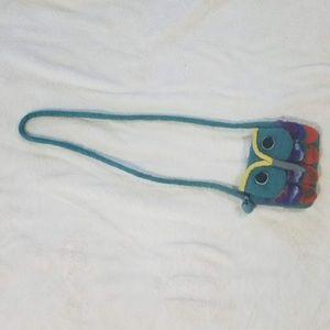 NWOT Kids Owl handbag.